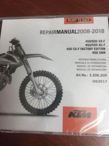 KTM REPAIR CD 08-18 450//505 SX-F//XC-F 450 SX-F FACTORY EDITION,450 SMR #3206309