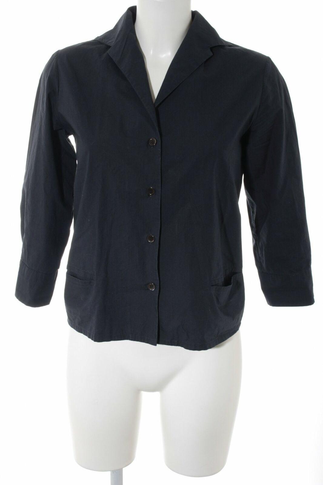 MARNI MARNI MARNI Langarmhemd dunkelblau schlichter Stil Damen Gr. DE 40 Hemd Formal Shirt  | Komfort  | Stil  | Attraktiv Und Langlebig  | Fairer Preis  | Adoptieren  dece3d