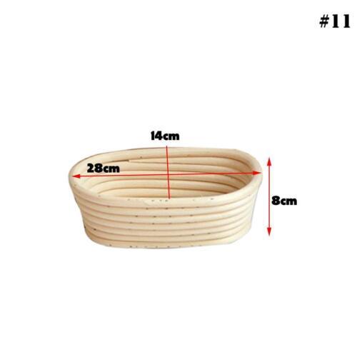 1 x Modelle Teig Korb Teig Brot Proofing Fermentation Land Körbe Backzubehö I9V0