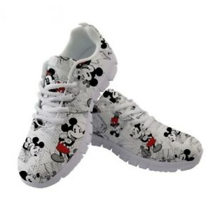 New Women's Mickey Mouse Sneakers