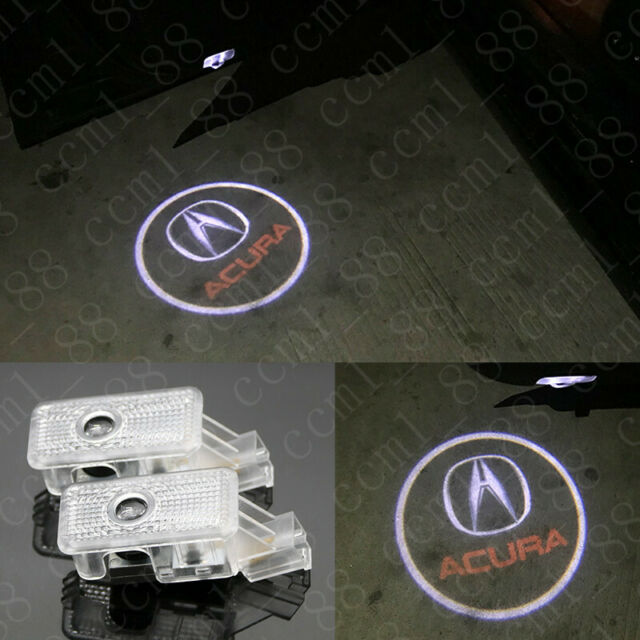 No Drill 3D LED Door Welcome Projector Shadow Light For