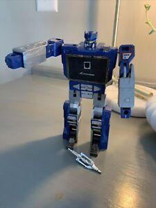 Transformers 1984 Soundwave Vintage G1 Decepticon Loose: Not Complete