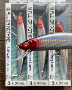 6 PACK 7 1//2 super Minnow TACKLE LURES TUNA MAHI DORADO KING FISH YELLOW TAIL