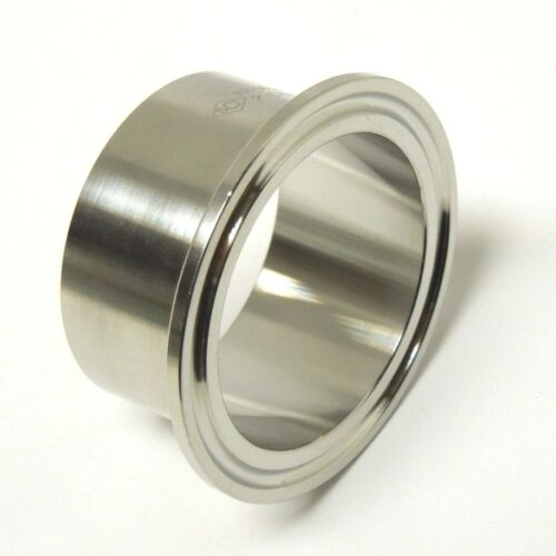 SANITARY 1″ 304 STAINLESS LONG WELD FERRULE CLAMP END TRI CLOVER /<SAN032