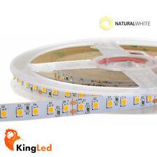 KingLed® Strisce LED 24V 600SMD2835 Luce Naturale 90W SuperBright Ra90 IP20 1963