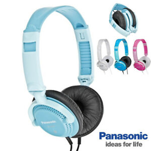 Casco Auricular Música DJ Fiesta Mp3 Móvil Panasonic RP-DJS200 Plegable 3,5mm