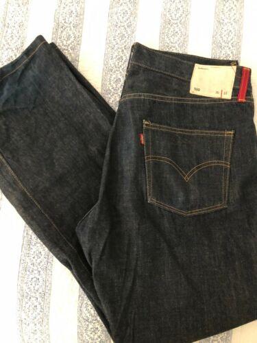 LEVIS MENS BLUE DENIM JEANS 36/33 Style 510