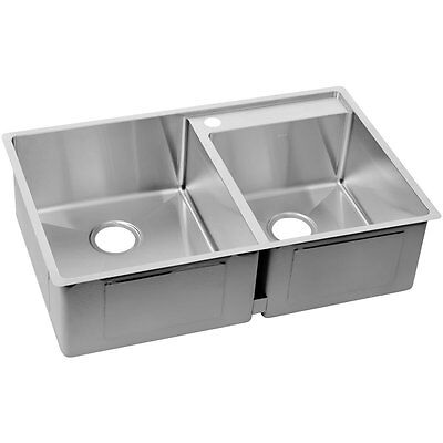 ELKAY ECTRUD31199R1 Crosstown Stainless Kitchen Sink Double Bowl Undermount  32.5 695634738087 | eBay