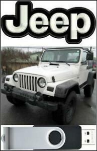 Jeep Wrangler TJ Factory Service Manual & Wiring Diagram ...
