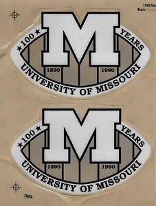Missouri Tigers Football Helmet Auto Decal - Black - 7141994 |Tiger Football Helmet Decals