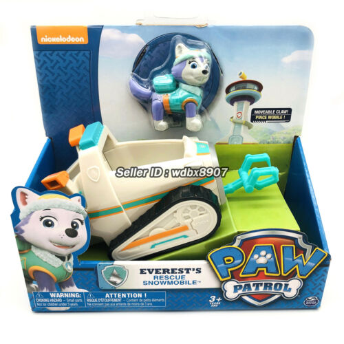 Everest/'s Rescue Snowmobile nickelodeon PAW Patrol Model Car Kids Child Gift Toy