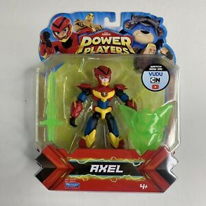 NEW-SEALED-Playmates-Toys-ZAG-Heroez-Power-Players-AXEL-Action-Figure-Series-1