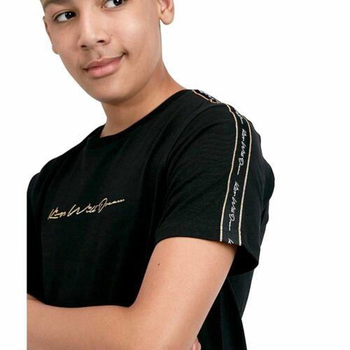 Kings si Dream Junior gloxberry T-Shirt Nero//Oro