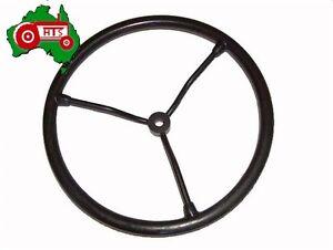 Tractor-Steering-Wheel-Steel-Spokes-Massey-Ferguson-TE20-TEA20-TEF20-as-Original