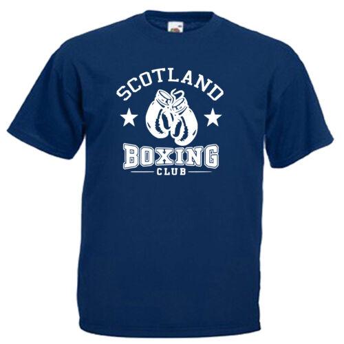 Scotland Boxing Club Boxer Children/'s Kids T Shirt