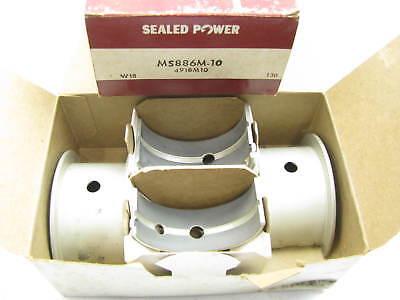 "Sealed Power MS886M-10 Main Bearings .010/"" Continental F135 F4135 F163 F4163"