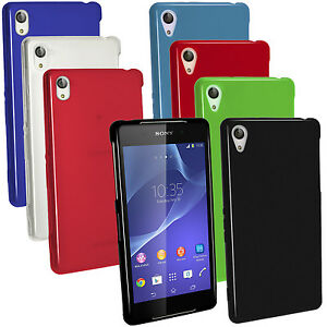 online store 88f33 1a078 Details about Glossy TPU Gel Skin Case Cover for Sony Xperia Z2 D6503 +  Screen Proctector
