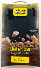 OtterBox Defender Series Case with Holster Clip Black for Sony Xperia Z4v - NEW
