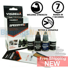 Strongest 7 Sec Instant Glue Speedy-Fix Filling Adhesive Black Grey Resin Kit