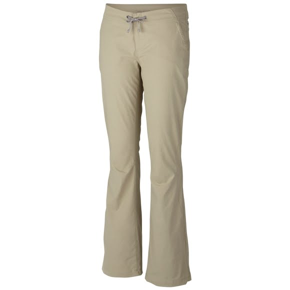 COLUMBIA Omni Shield Anytime boot cut activewear women's pants - Beige- Size 4