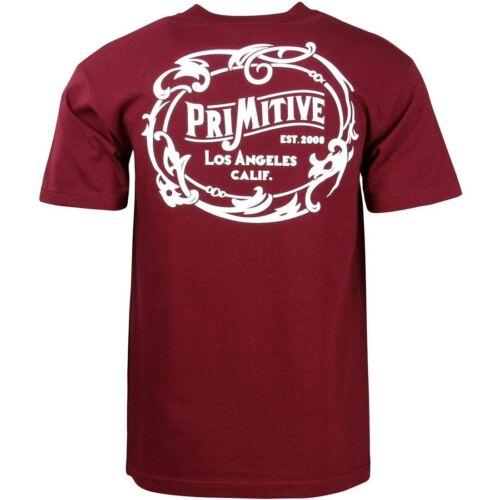 Primitive Men Wrangler Tee burgundy