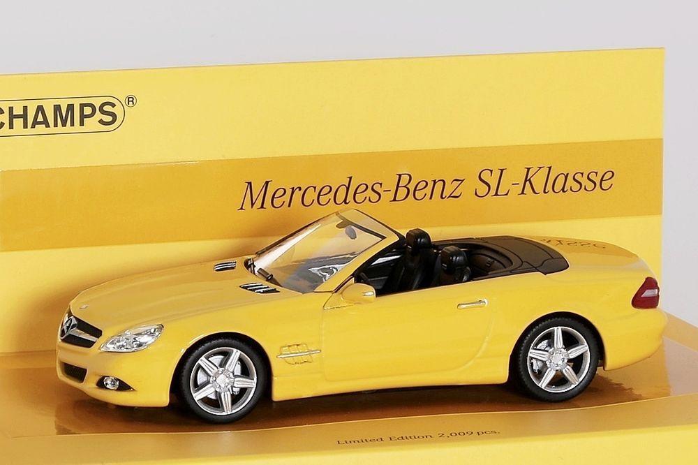 Mercedes-Benz Sl-Classe r230 2008 Minichamps 1 43 Nouveau Neuf dans sa boîte