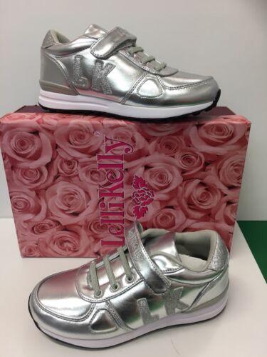 LELLI Kelly LK 3850 Ilaria Sneaker In Argento Metallico ERA £ 39.90 ora solo £ 19.90