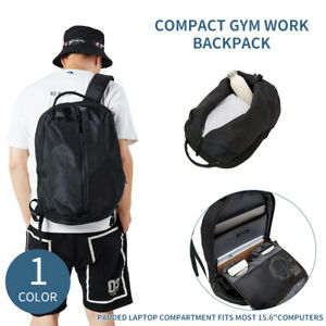 9c5a539f67 Kah Kee Compact Gym Work Backpack Waterproof Travel Laptop Bag ...