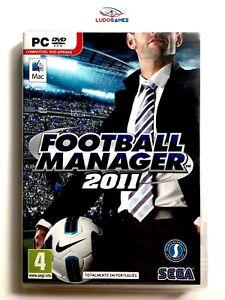 Football-Manager-2011-PC-Scelle-Produit-Nouveau-Retro-Videojuego-Videogame