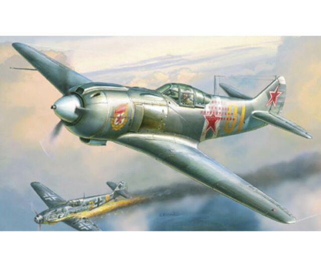 Zvezda 1:48 WWII Sov. Jäger LA-5FN