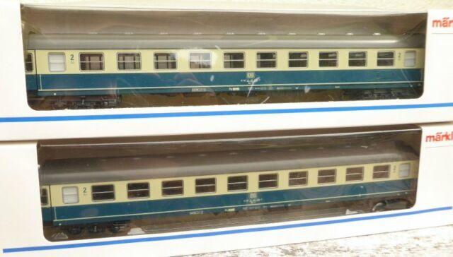 Märklin 4292 2 x,  2 Stück Schnellzugwagen Bm 234 der DB Epoche 4/5 sehr gut,OVP