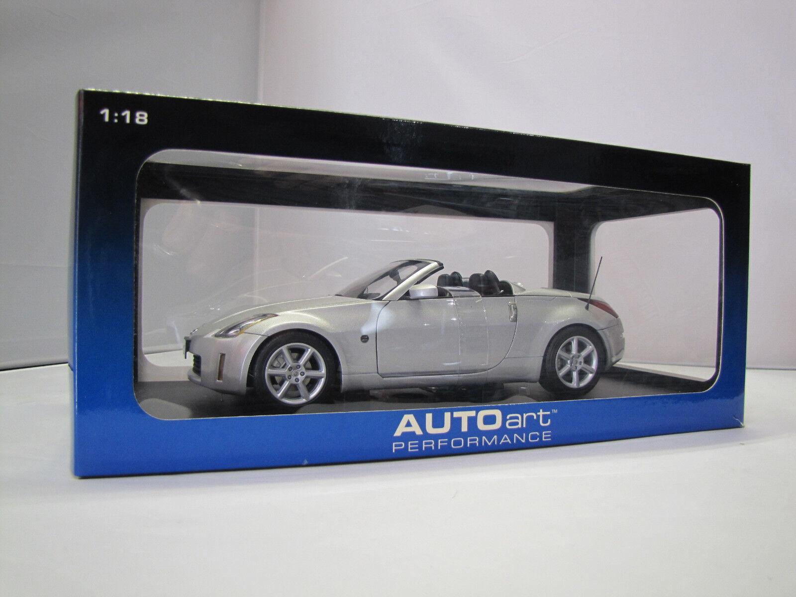 77371 Autoart Nissan 350 Z Roadster (Diamond Argento) - 1:18