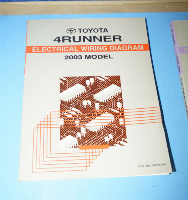 2003 Toyota 4runner Oem Evtm Electrical Wiring Diagram
