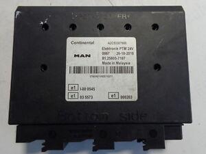 Details about MAN elektronik PTM control unit 81258057107 ( MAN for parts)