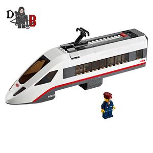 LEGO-City-High-speed-Engine-from-60051-High-Speed-Passenger-Train-NO-WHEELS