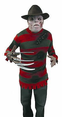Freddy Krueger DELUXE Sweater Size Teen-STD (14-16)