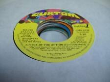 Soul Unplayed NM! 45 MAVIS STAPLES  A Piece Of the Action on Curtom