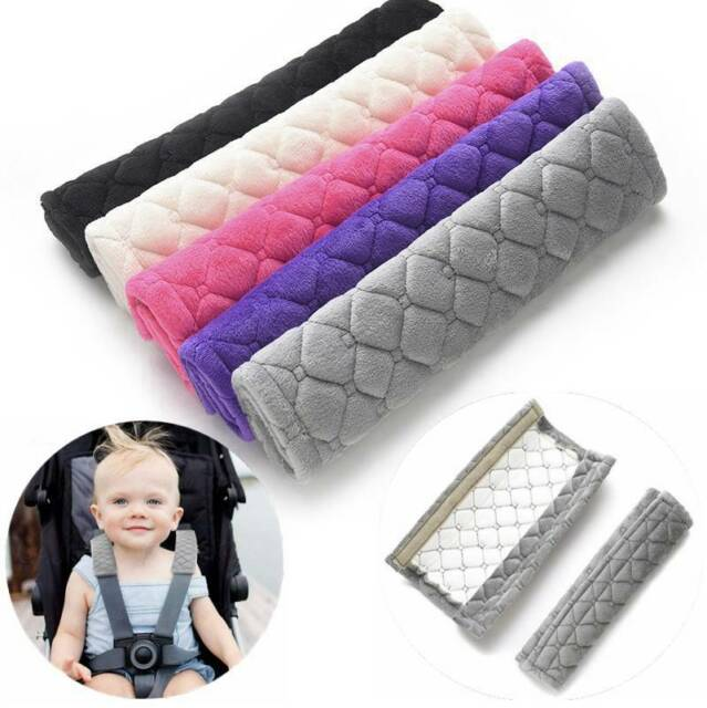 Baby Safety Strap Car Seat Belt Pillow Protect Shoulder Cushion Harness Pad UK Baby Car Seat Accessories