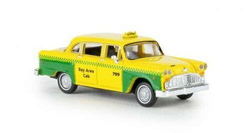 1//87 Brekina Checker Cab San Francisco 58925
