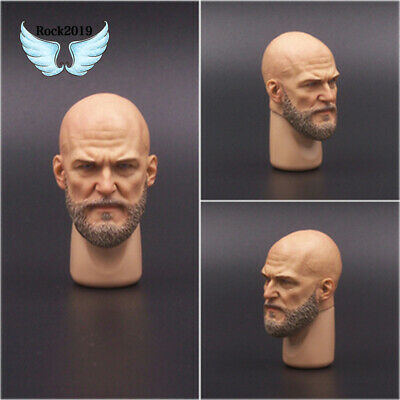 "1:6 Scale Mateda A23 Male Head Sculpt F 12/"" Hot Toys Phicen Action  Figure"