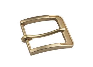 Capable 1pcs Solid Brass Pin Buckle Belt Strap Diy Accessory 59x51mm #92489 Rendre Les Choses Pratiques Pour Les Clients