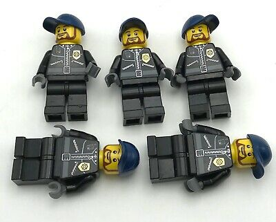 ☀️NEW Lego City Boy//Girl Minifig Hat Dark Blue Police Cap Officer Cop Policeman