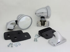 """4"""" BULLET STYLE DOOR MIRRORS FIT DATSUN 620 720 120Y 520 521 B310 PICK- UP TRUCK"""