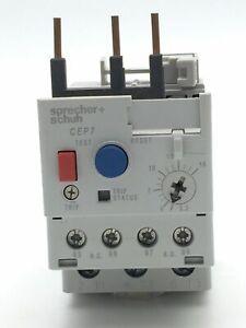 Overload Relay Sprecher Schuh CEP7-ED1DB 3.2-16 Amp