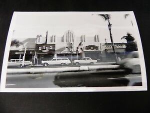 Coronado California CA Rppc Real Photo Holland's Sports Cafe Bar San Diego Cars