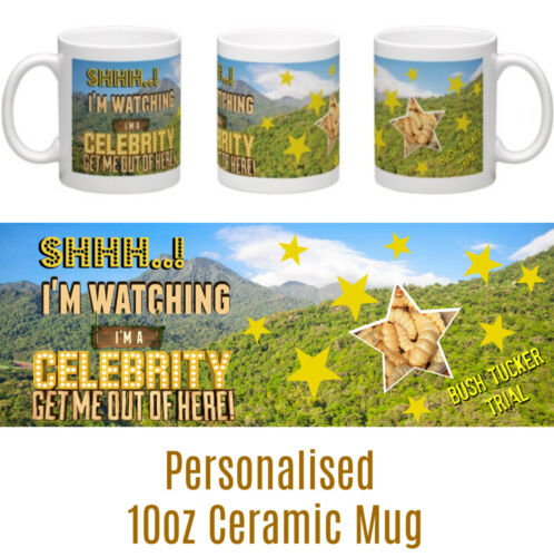 I/'m a Celebrity Get Me Out Of Here personalised ceramic mug Christmas Birthday
