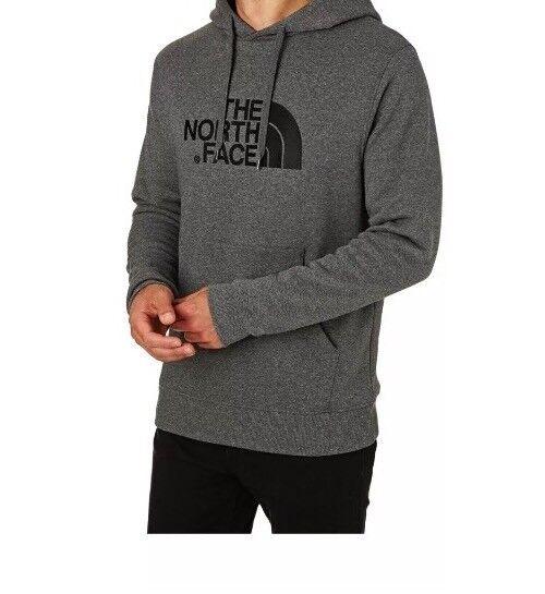5fbf5618 The North Face Men Drew Peak Hoodie Mens Hooded Jumper Grey Black T0AHJYLXS  XXL for sale online | eBay