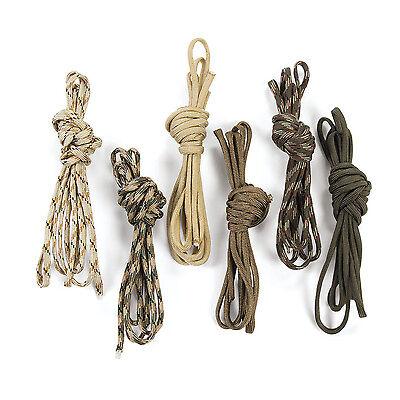 6 Camo Color Paracord 8' Rope for Bracelet DIY Camouflage Party Favor Decoration