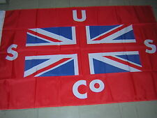 British Empire Union Steamship Company USCO Flag New Zealand Red Ensign 3X5ft