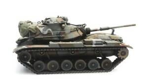 Artitec-6870237-US-Army-M60A1-MERDC-Train-Load-H0-1-87-Fertigmodell-Panzer
